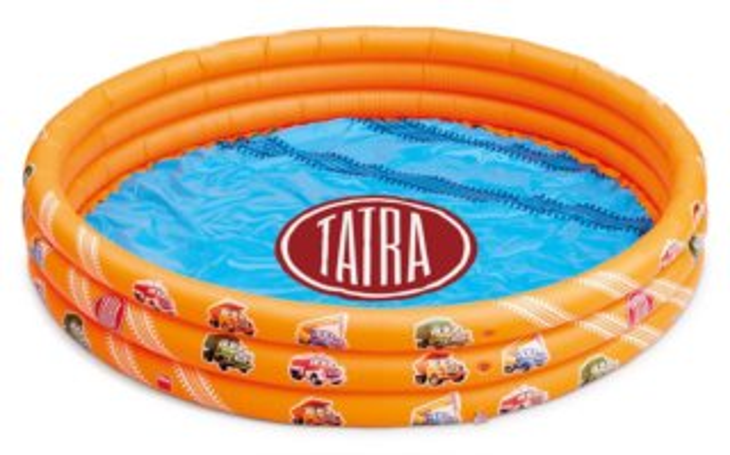 DINO Dětský bazén Tatra kruh 122cm
