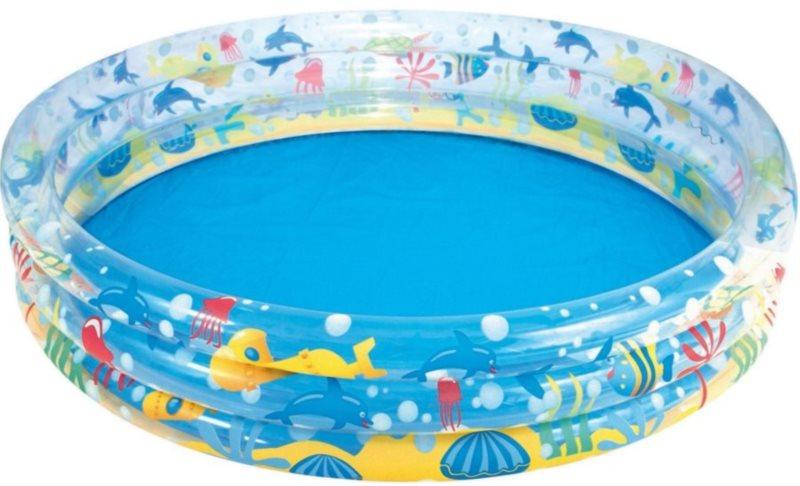 BESTWAY Dětský bazén - Vodní svět kruh 152 cm