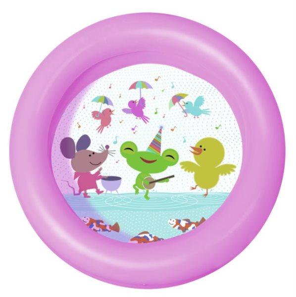 BESTWAY Dětský bazén Žabka a přátelé kruh 61 cm