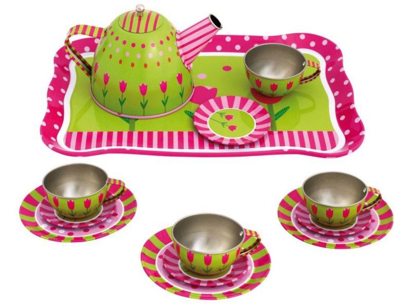 BINO Dětský čajový set Melissa