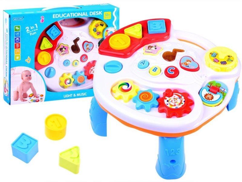 Dětský interaktivní stoleček