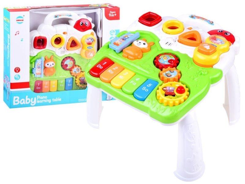 Dětský interaktivní stoleček Piano