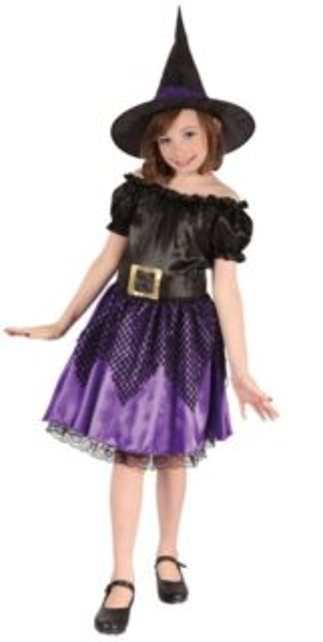 Dětský kostým Čarodějnice, MADE
