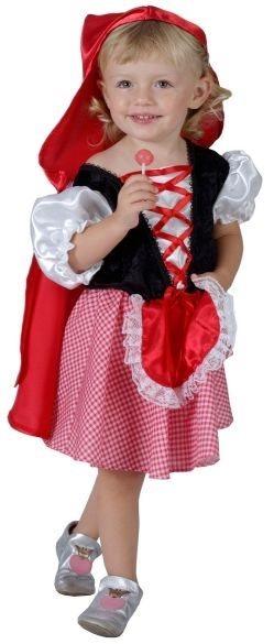 Dětský kostým Červená Karkulka, MADE