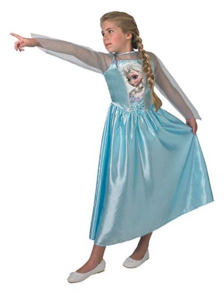 Dětský kostým Elsa 120 - 130 cm