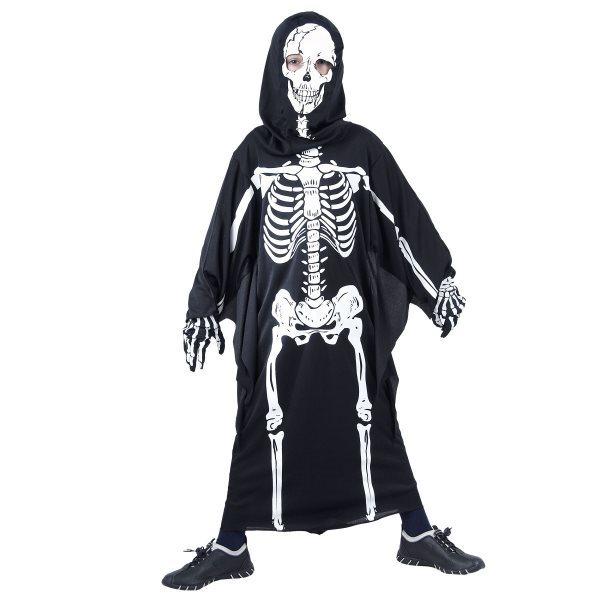 Dětský kostým Kostlivec 120 - 130 cm