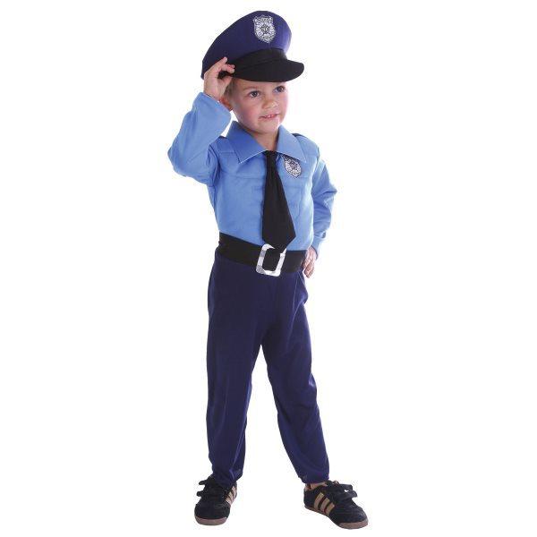 Dětský kostým Policista 92 - 104 cm