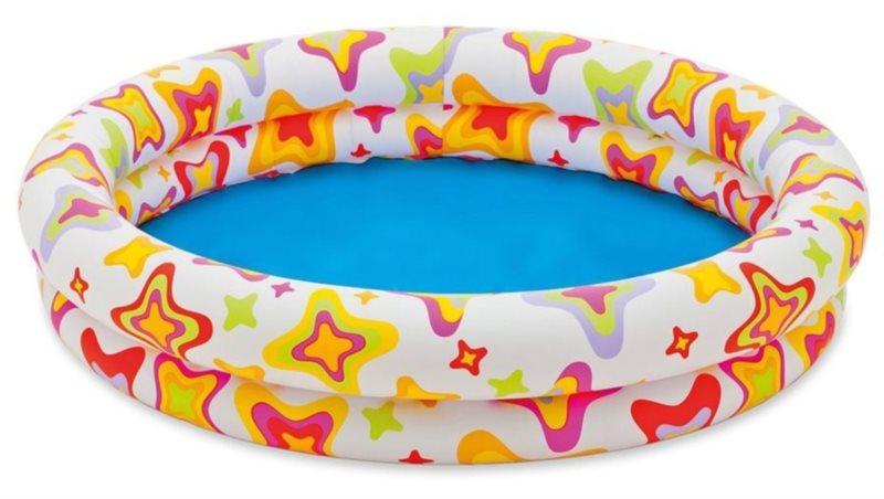 Dětský kruhový bazén - Hvězdy, INTEX
