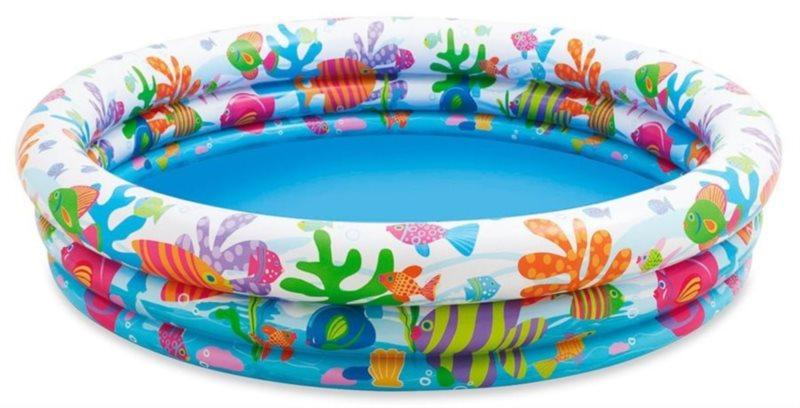 Dětský kruhový bazén - Rybičky, INTEX