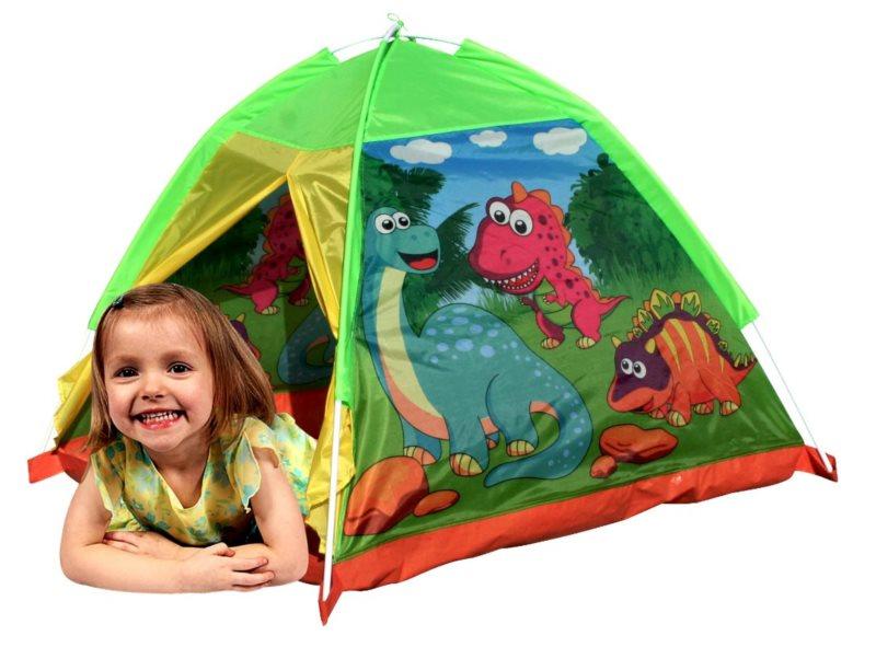 PIXINO Dětský stan na hraní Dinosauři