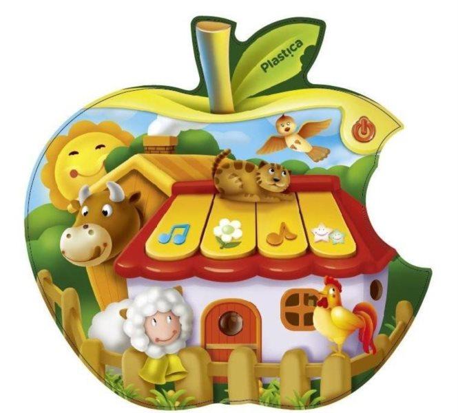 PLASTICA Dětský tablet - jablíčko