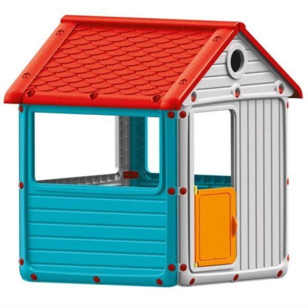 DOLU Zahradní domeček, plastový modrý