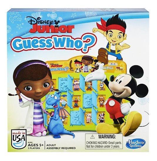Společenská hra Disney Junior: Hádej Kdo?, HASBRO