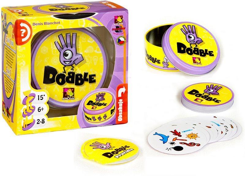 Rodinná zábavní hra Dobble - základní verze