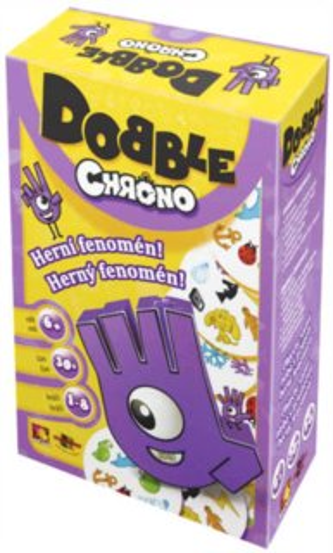 Rodinná zábavní hra Dobble Chrono