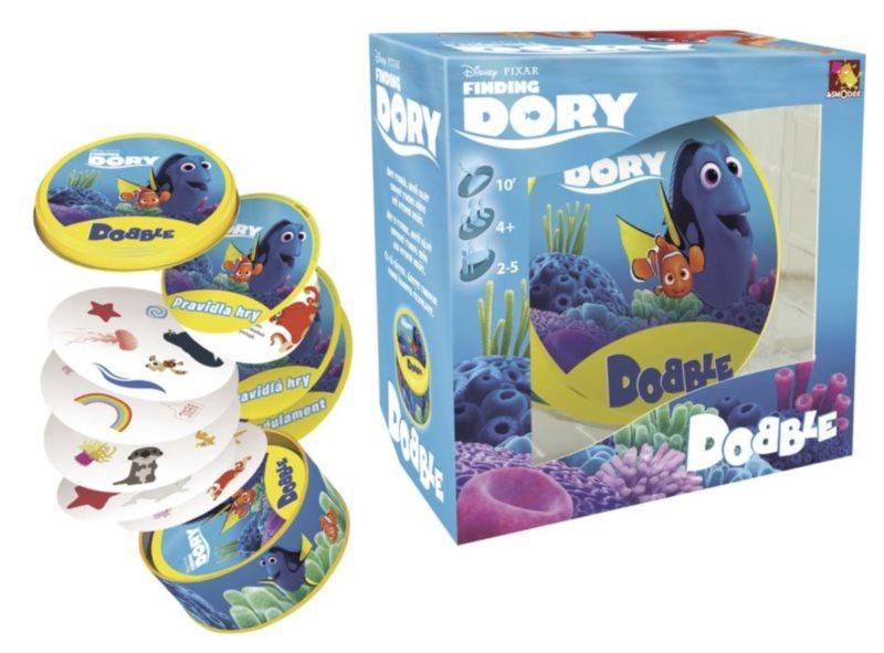 Rodinná zábavní hra Dobble Hledá se Dory
