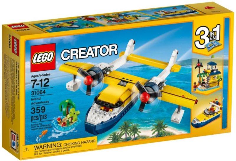 Stavebnice LEGO® Creator 31064 Dobrodružství na ostrově