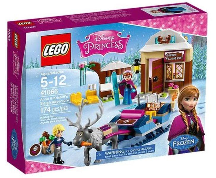 LEGO® Disney Princess 41066 Dobrodružství na saních s Annou a Kristoffem