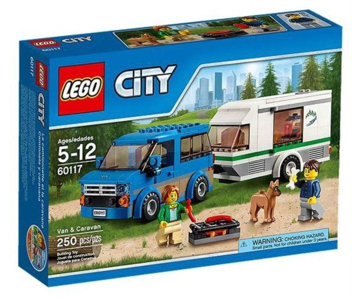Stavebnice LEGO® City – 60117 Dodávka a karavan