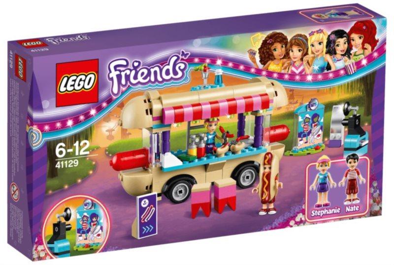 LEGO® Friends 41129 Dodávka s párky v rohlíku v zábavním parku