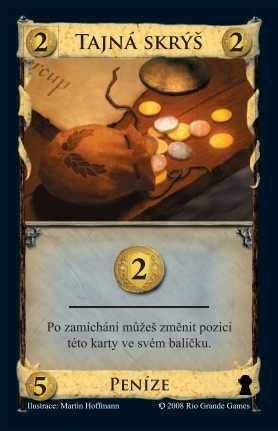 Karetní hra Dominion Tajná skrýš (rozšíření), ALBI