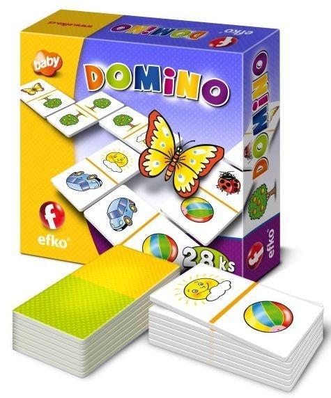 Dětská hra Domino BABY, EFKO