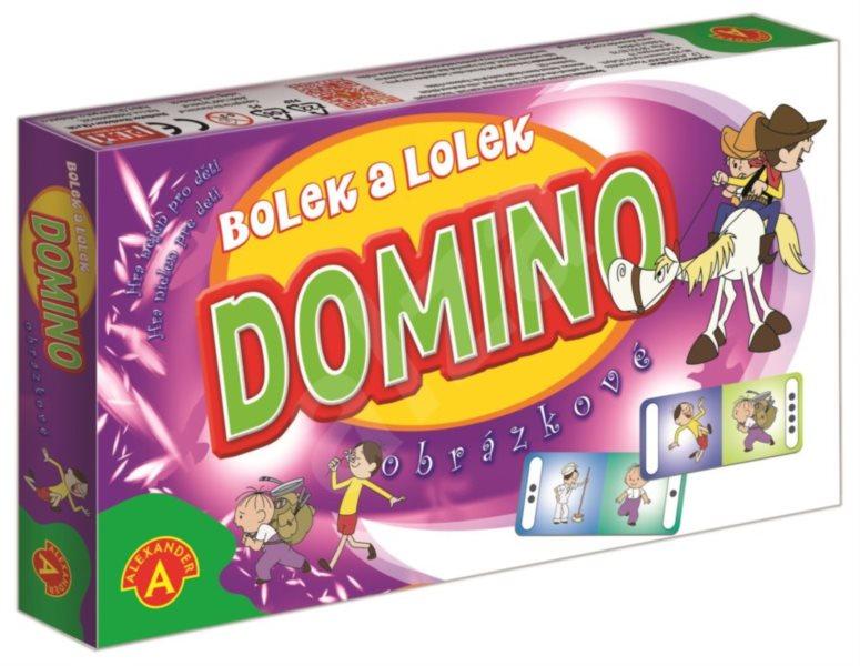Dětská hra Domino Bolek a Lolek, ALEXANDER
