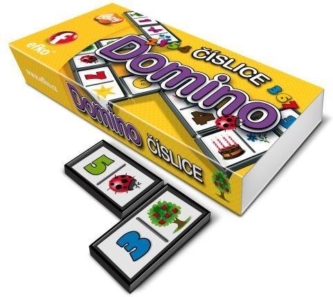 Dětská hra Domino Číslice, EFKO