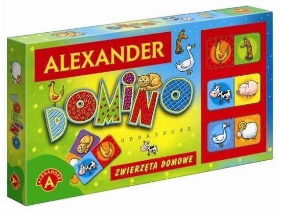 Dětská hra Domino Domácí zvířata, ALEXANDER