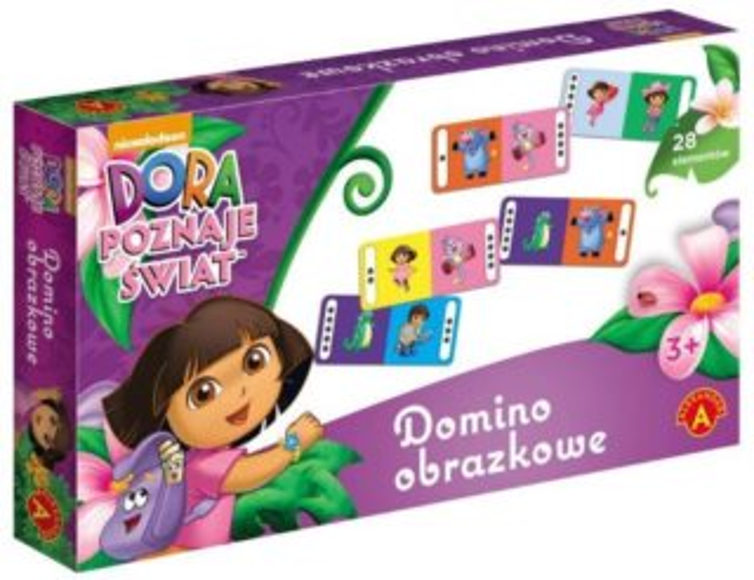 Dětská hra Domino Dora Průzkumnice, ALEXANDER