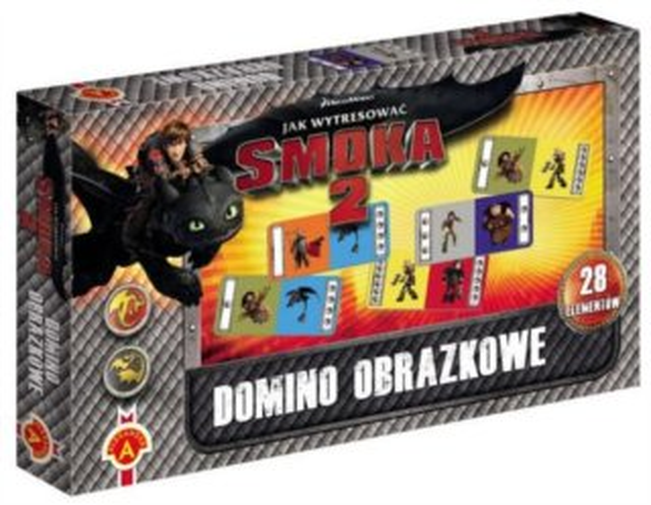 Dětská hra Domino Jak vycvičit draka, ALEXANDER