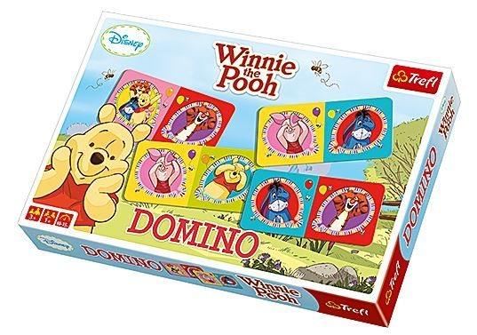 Domino Medvídek Pú a kamarádi TREFL