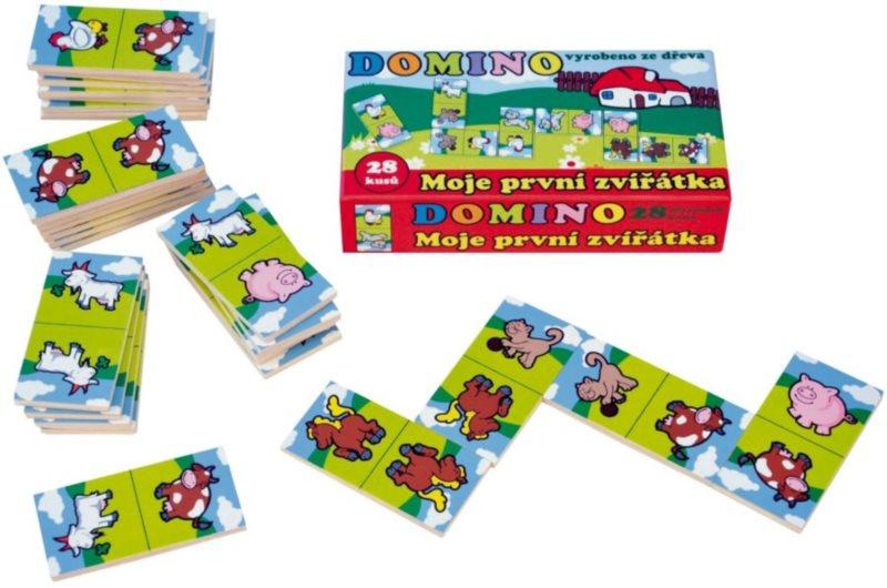 Dřevěné domino - Moje první zvířátka
