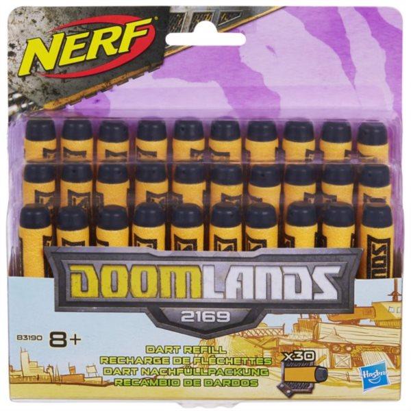 NERF DOOMLANDS Náhradní šipky (30 ks)