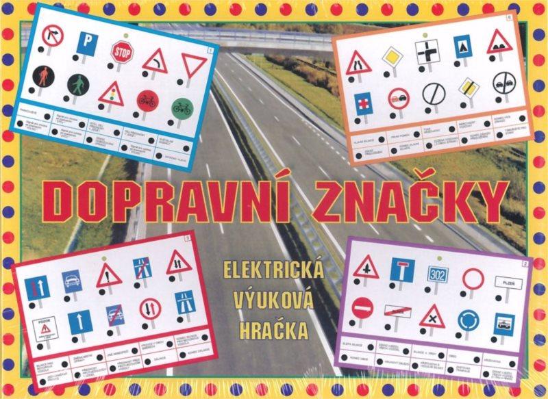 Elektronická kombinační hra pro děti - Dopravní značky