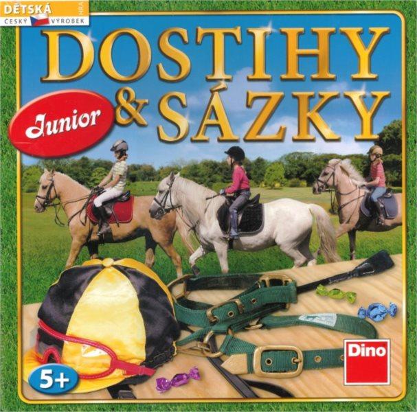 Dětská hra Dostihy a sázky Junior, DINO