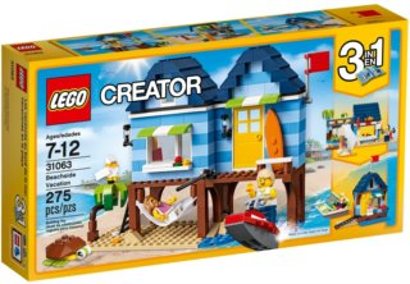 Stavebnice LEGO® Creator 31063 Dovolená na pláži
