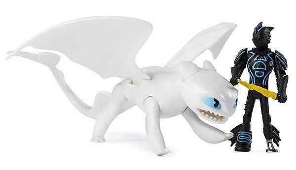 SPIN MASTER Jak vycvičit draka 3: Škyťák a Bílá běska