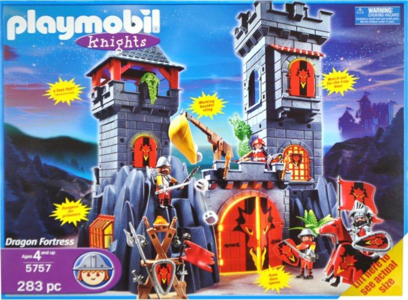 Playmobil 5757 Dračí pevnost Exclusive