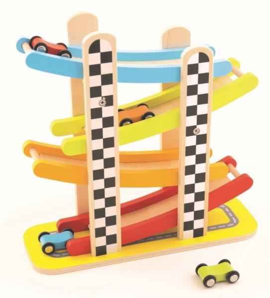 TREFL Dřevěná závodní dráha