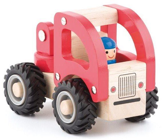 Dřevěné autíčko WOODY Hasiči