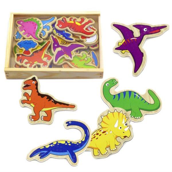 Studo Wood Magnetky dinosauři 20 ks