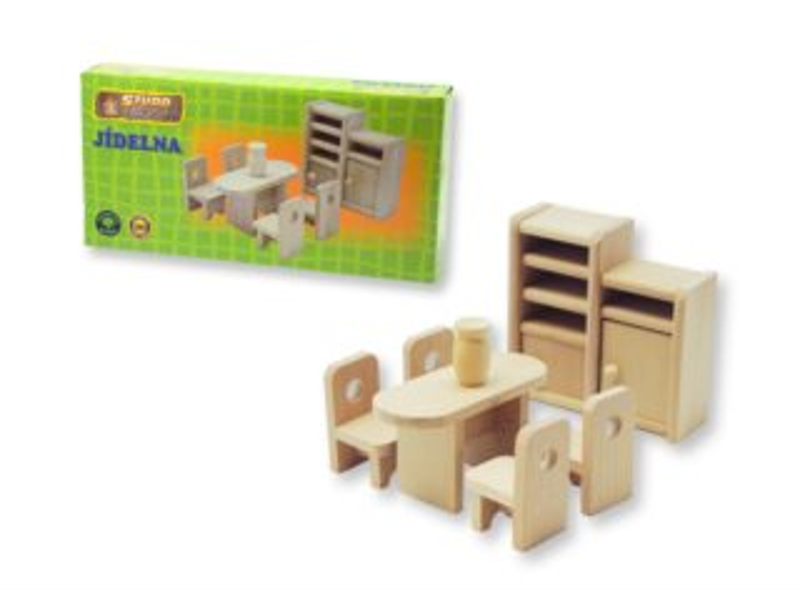 Studo Wood Mini nábytek - jídelna