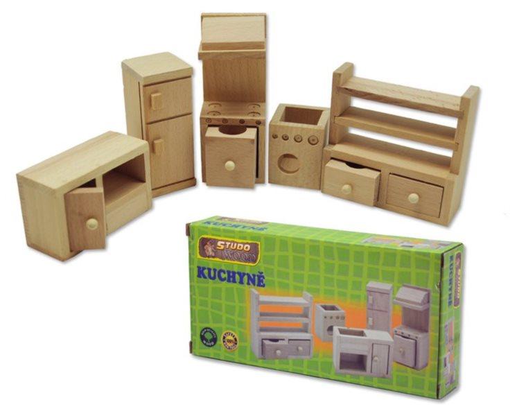 Studo Wood Mini nábytek - kuchyně