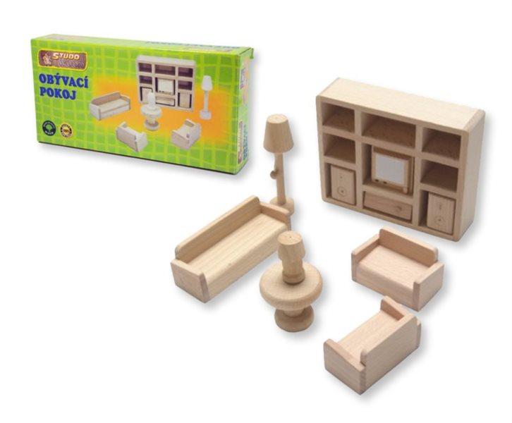 Studo Wood Mini nábytek - obývák