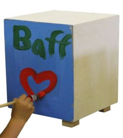 BAFF: Drum Box Kit 30 cm - k sestavení
