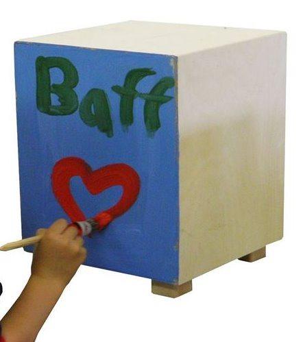 BAFF: Drum Box Kit 38 cm - k sestavení