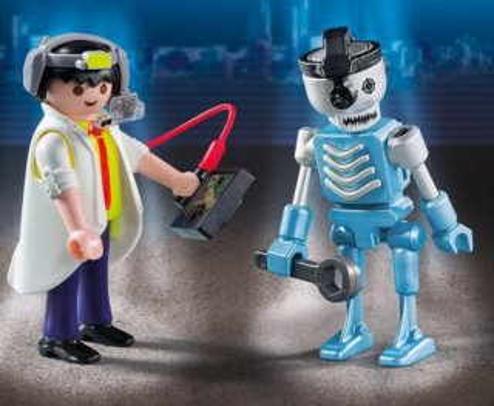 Duo Pack Profesor a robot 6844
