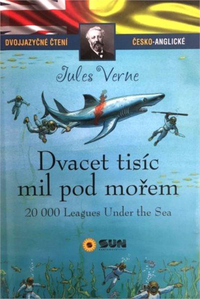 Dvojjazyčné čtení: Dvacet tisíc mil pod mořem, Nakladatelství SUN