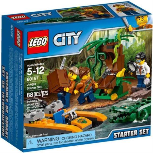 Stavebnice LEGO® City 60157 Džungle - začátečnická sada
